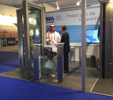 IOKA showcases its products and services at INTERSEC in Dubai